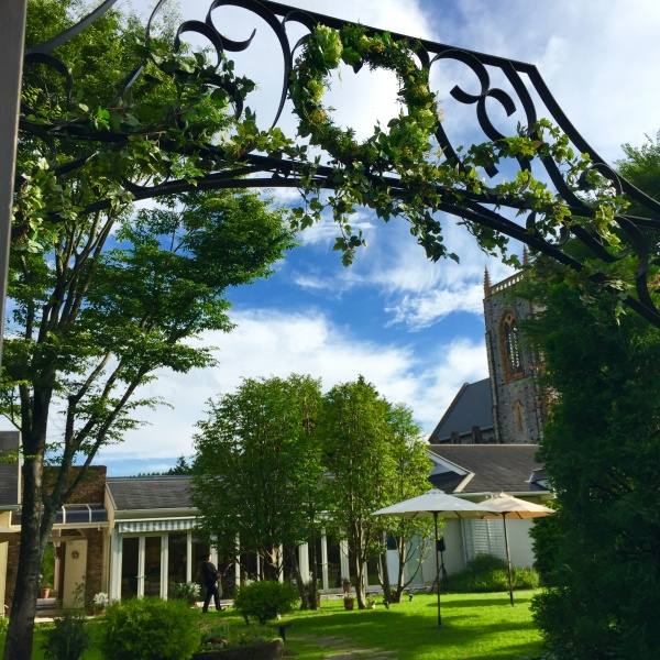 森の教会 ゲート