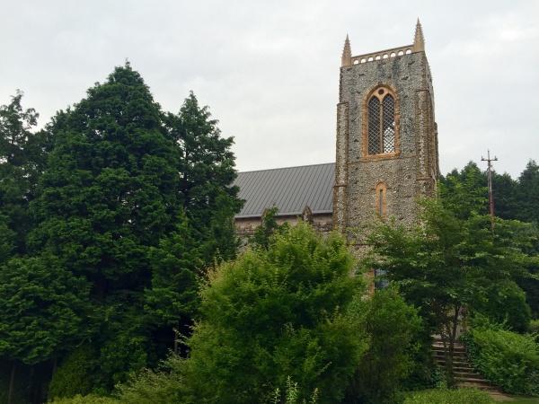 裏テラス 教会