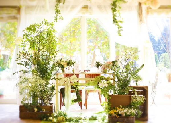 自然 結婚式