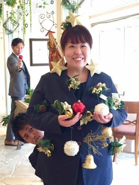 クリスマス 結婚式